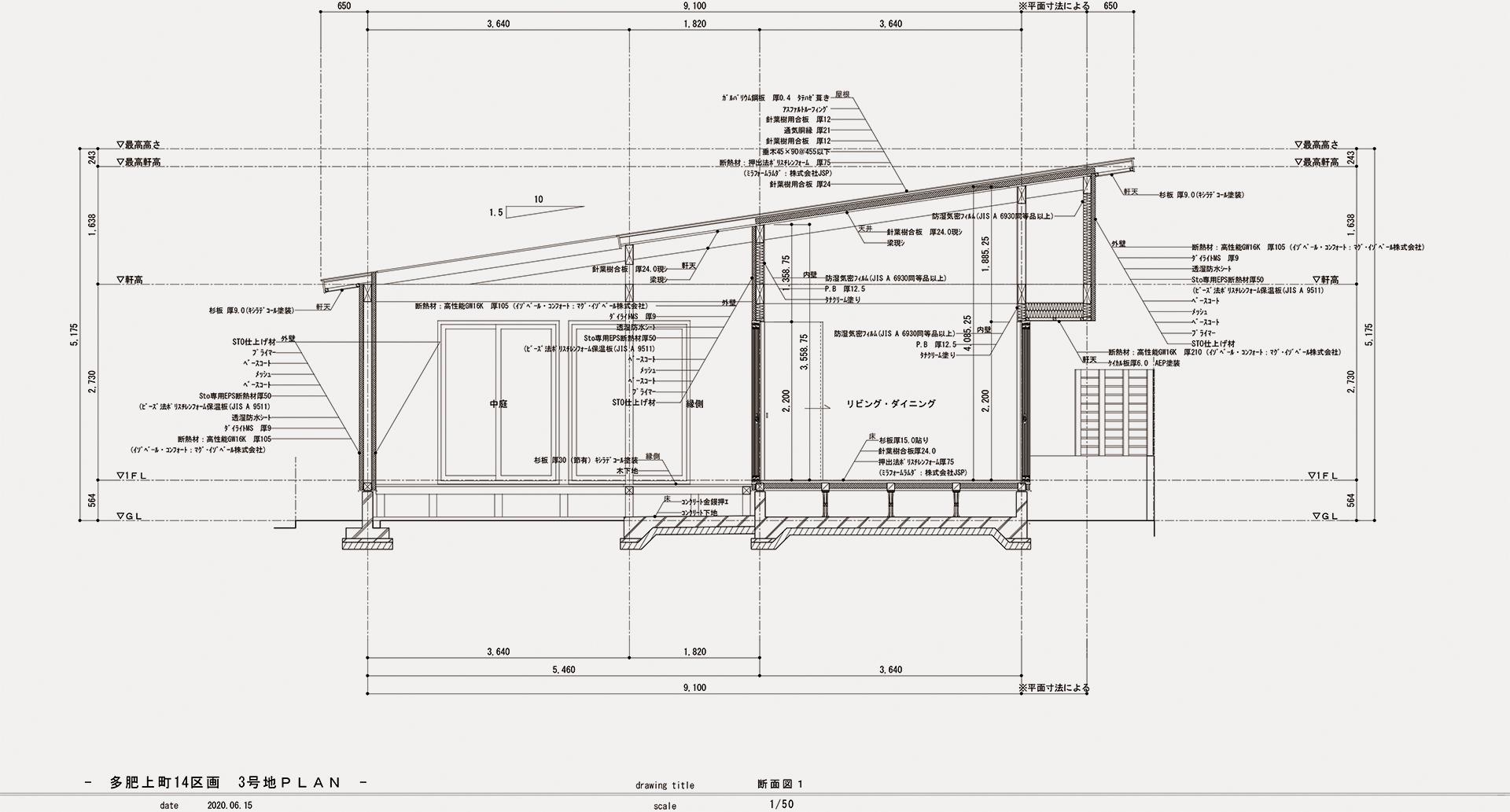 多肥上町14区画 3号地PLAN200615-9